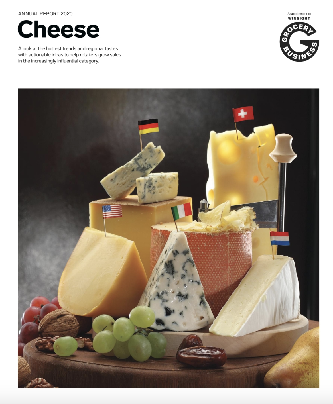 Winsight Grocery Business Magazine Annual Report 2020: Cheese Issue