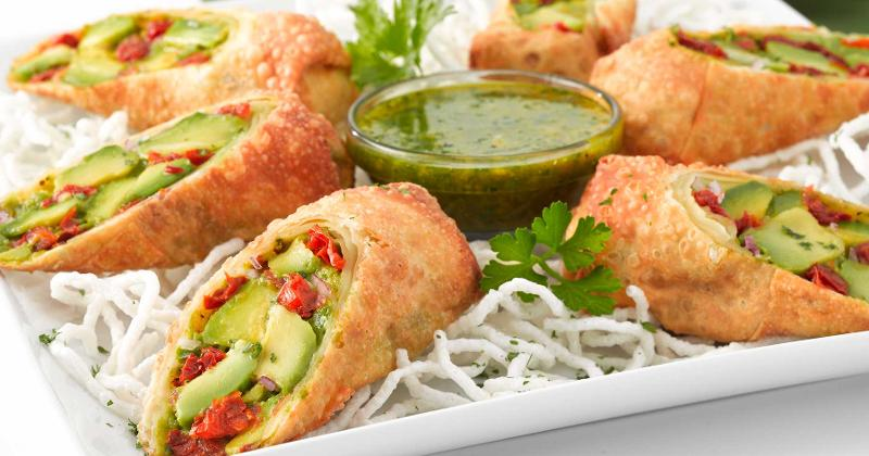 avocado eggrolls from the cheesecake factory
