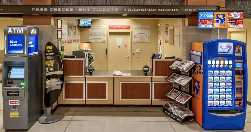 H-E-B Stimulus Kiosk