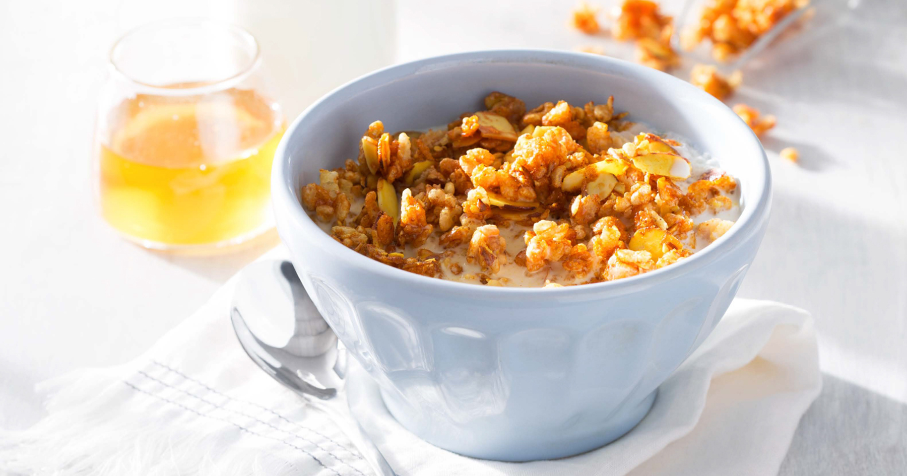 Honey Nut Puffed Cereal