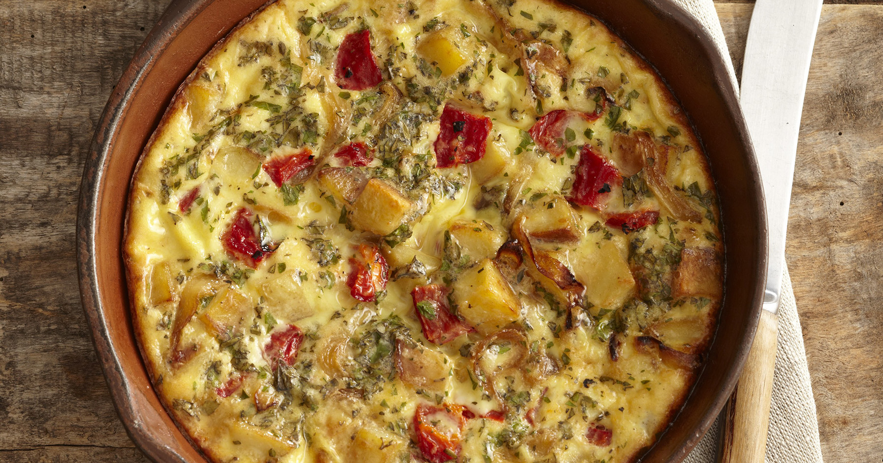 Morning Potato Frittata