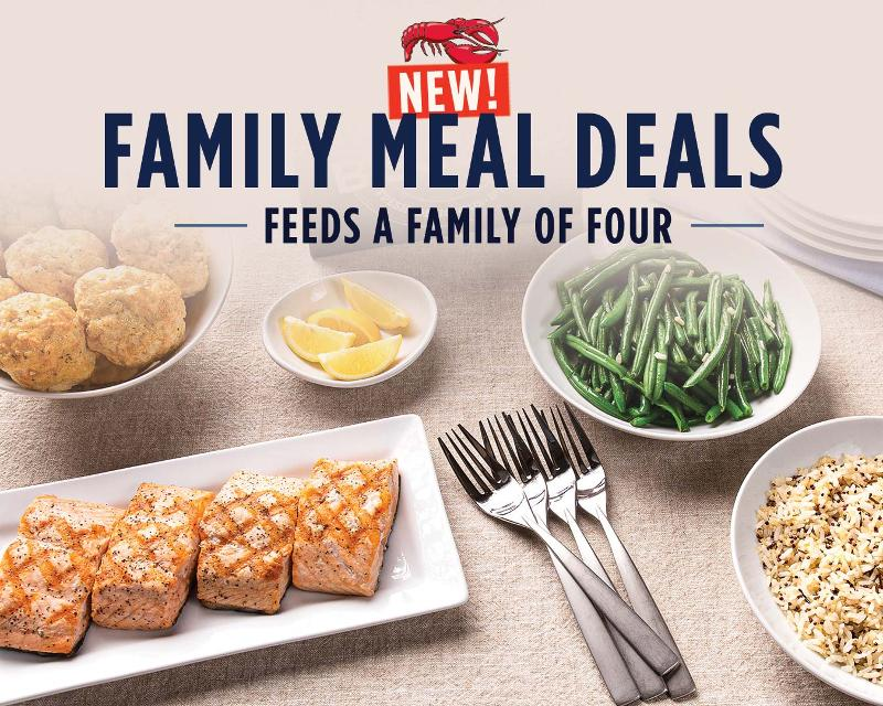 Red Lobster family meal