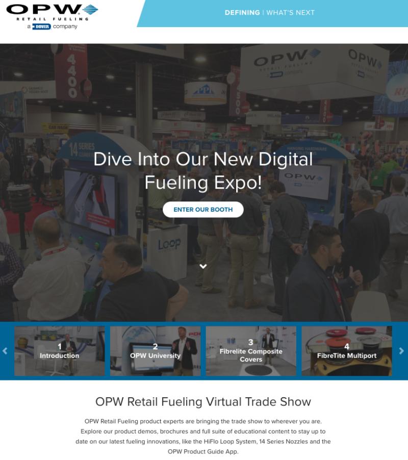 OPW virtual trade show