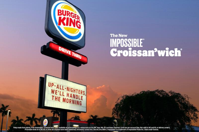 Burger King Impossible Meat