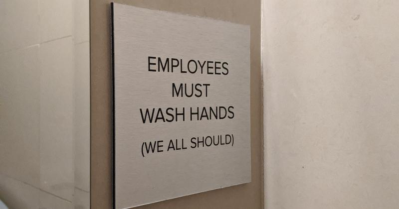 Restaurant sanitation