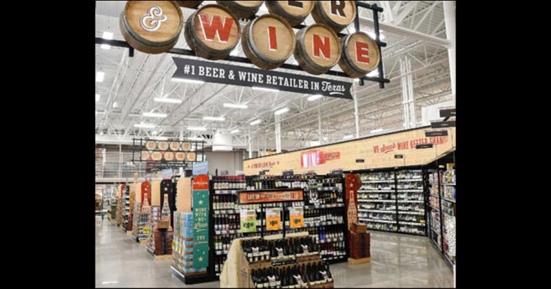 H-E-B Spring Green Wine and Beer
