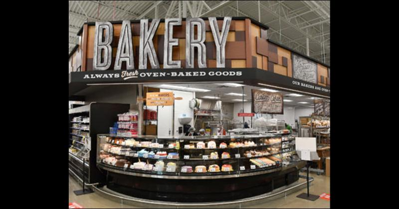 h-e-b spring green bakery