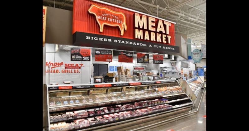 H-E-B Spring Green Market Meat and Seafood