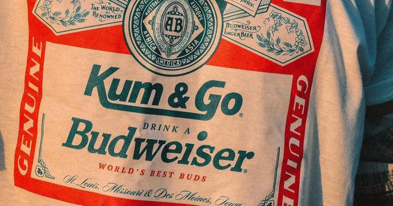 Kum & Go Budweiser shirt