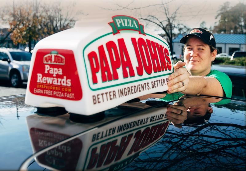 papa johns delivery