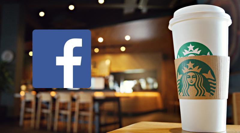 Starbucks boycott Facebook ads