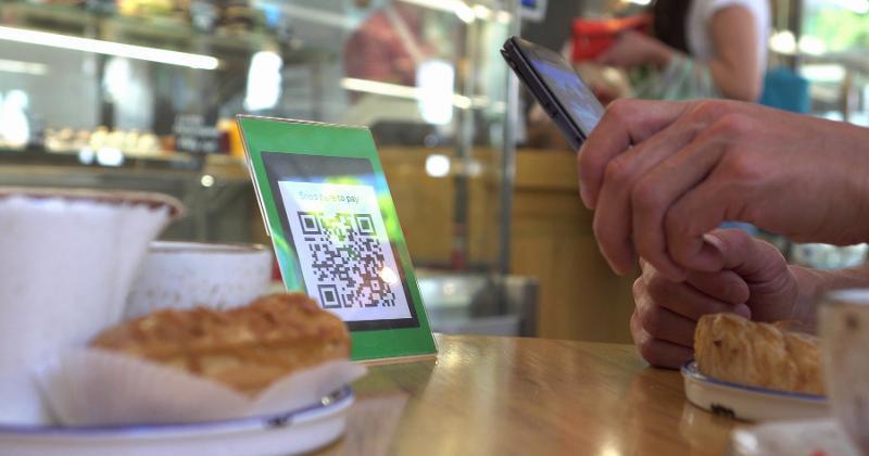 Restaurant QR code payment