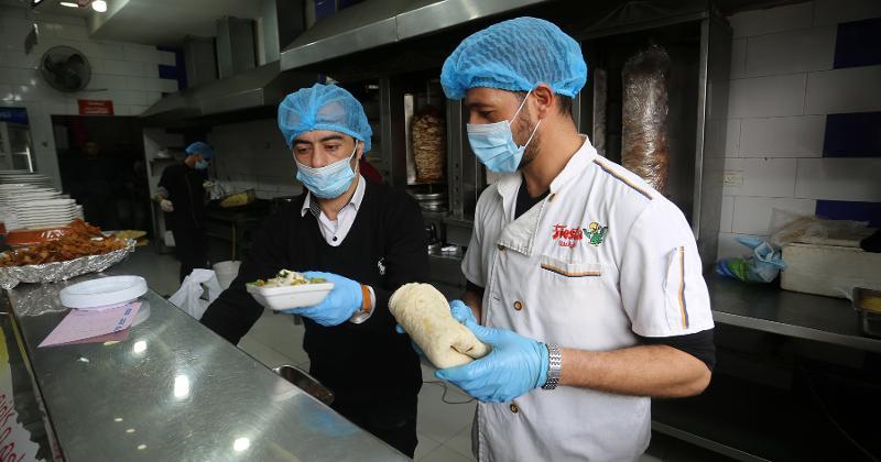 Restaurant workers vaccine