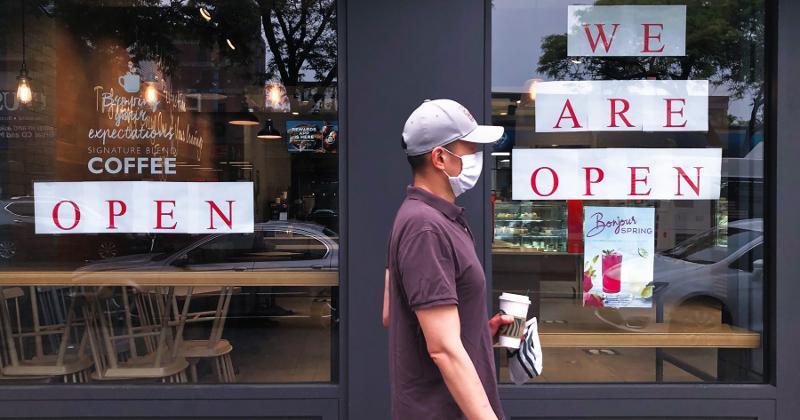 Restaurants opening pandemic