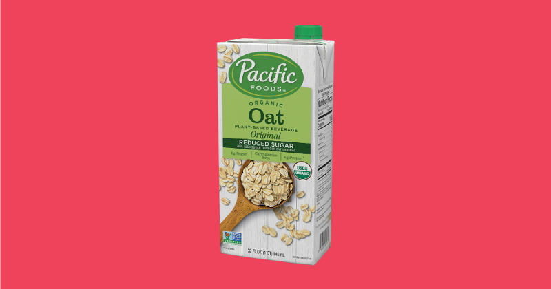 pacific foods organic reduced sugar oat