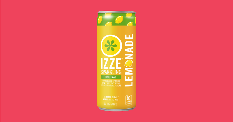 izzie sparkling lemonade