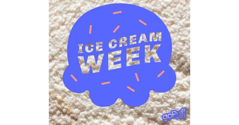 GoPuff Ice Cream Month