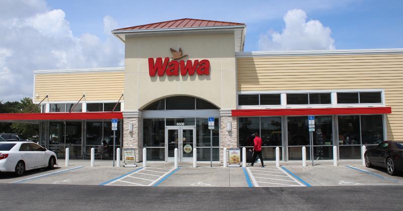 Wawa store front