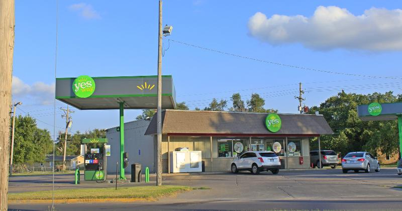 Yesway gas station