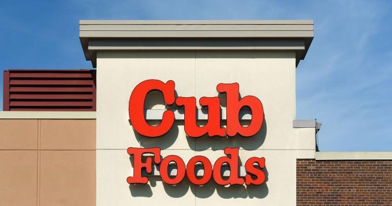 cub foods sign