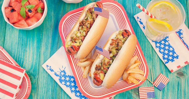 hot dogs fourth of july