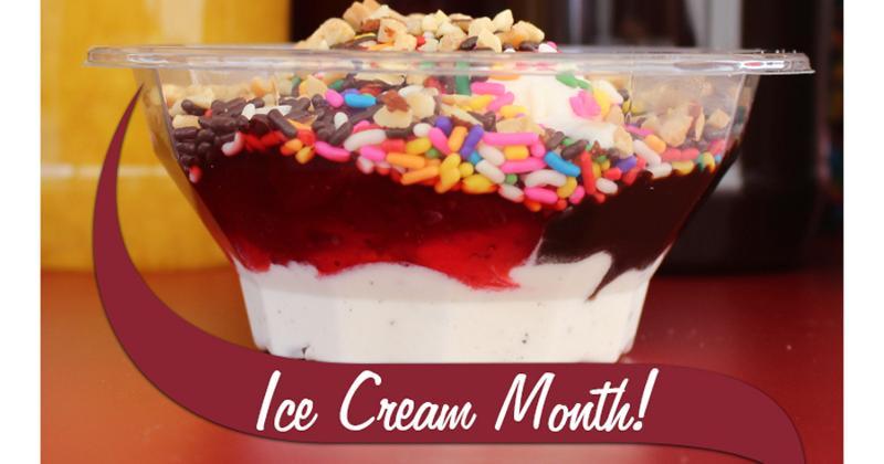Stewart's Ice Cream Month