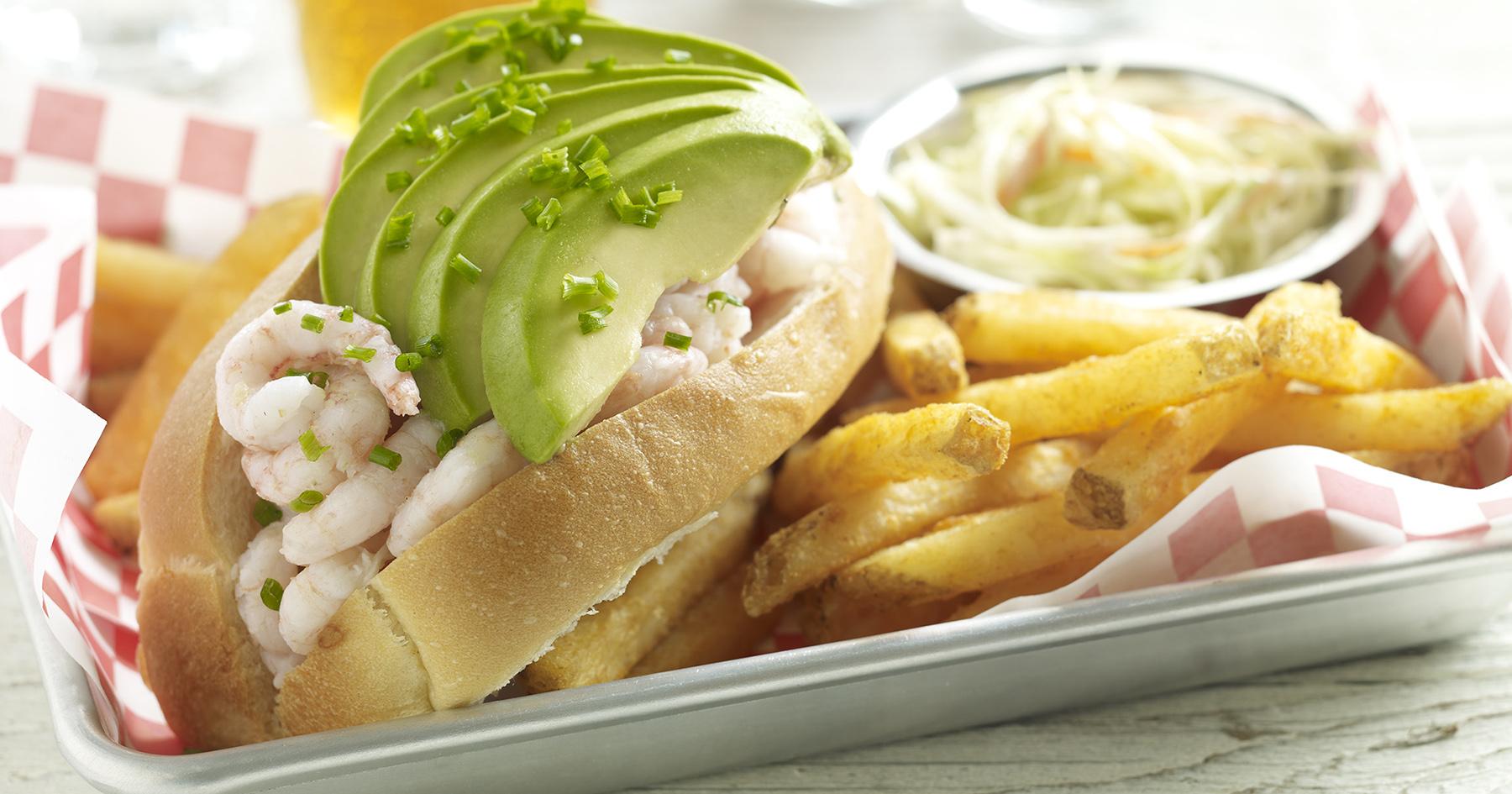 avocado seafood roll