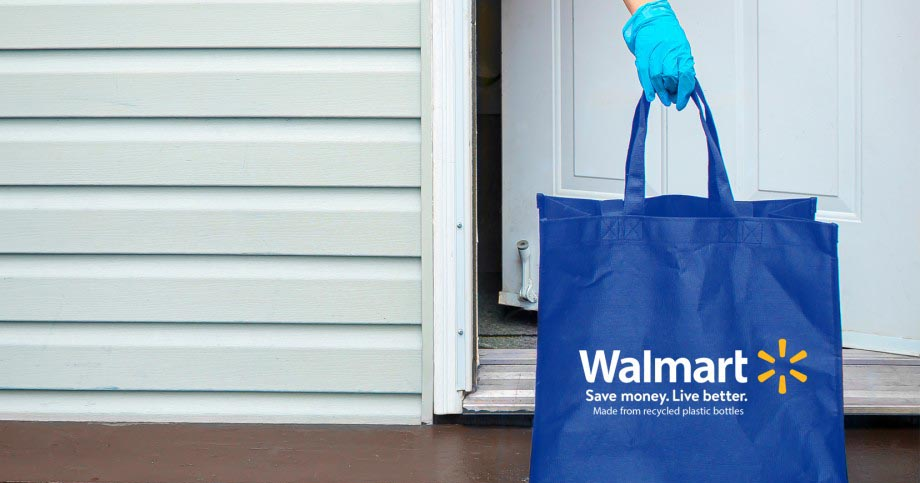 walmart contact-free delivery