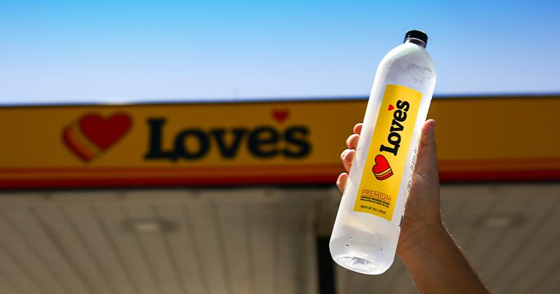 Love's Branded Water