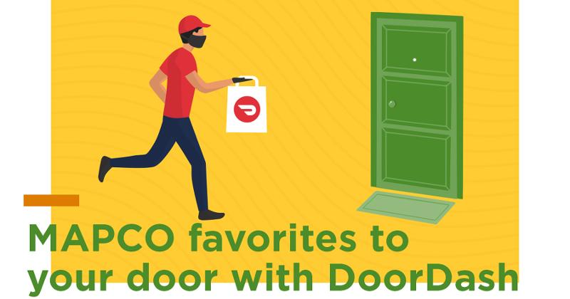 MAPCO delivery with DoorDash