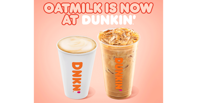 Oatmilk Dunkin
