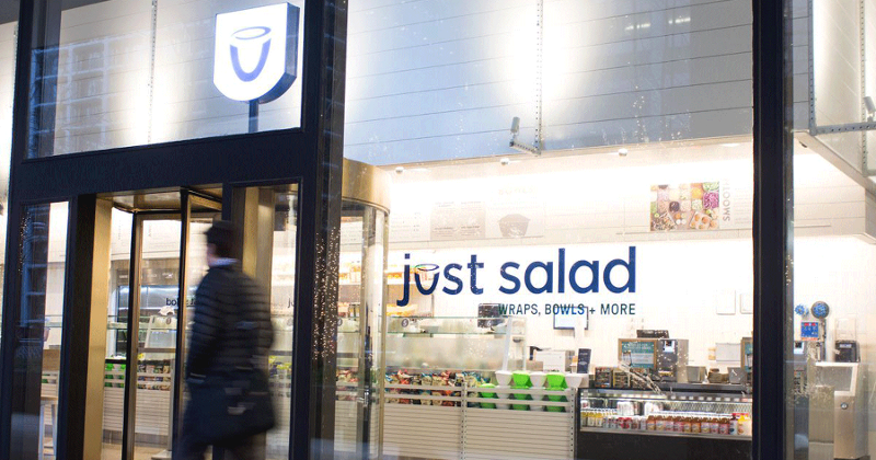 Just Salad shakeup