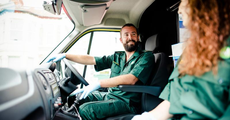 paramedic driving