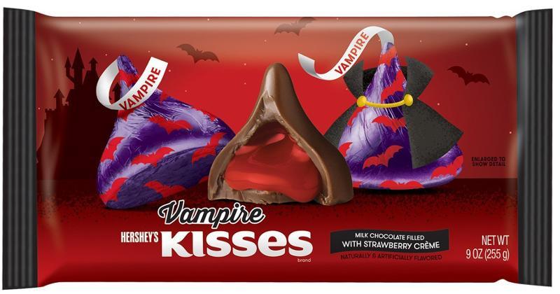 Vampire Hershey's Kisses