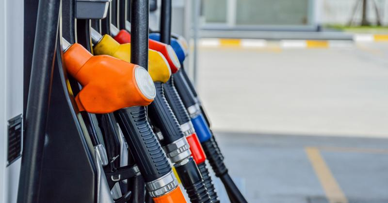 multiple gas pumps