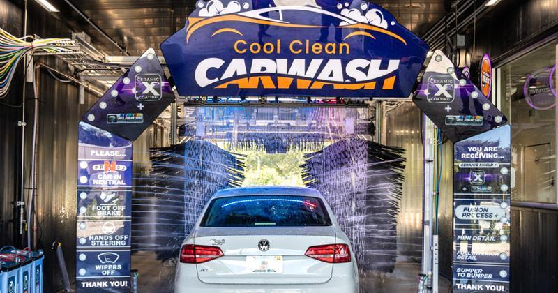 Cool Clean car wash