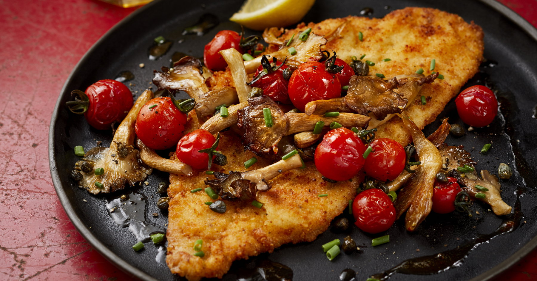 Sole Schnitzel with Browned Butter