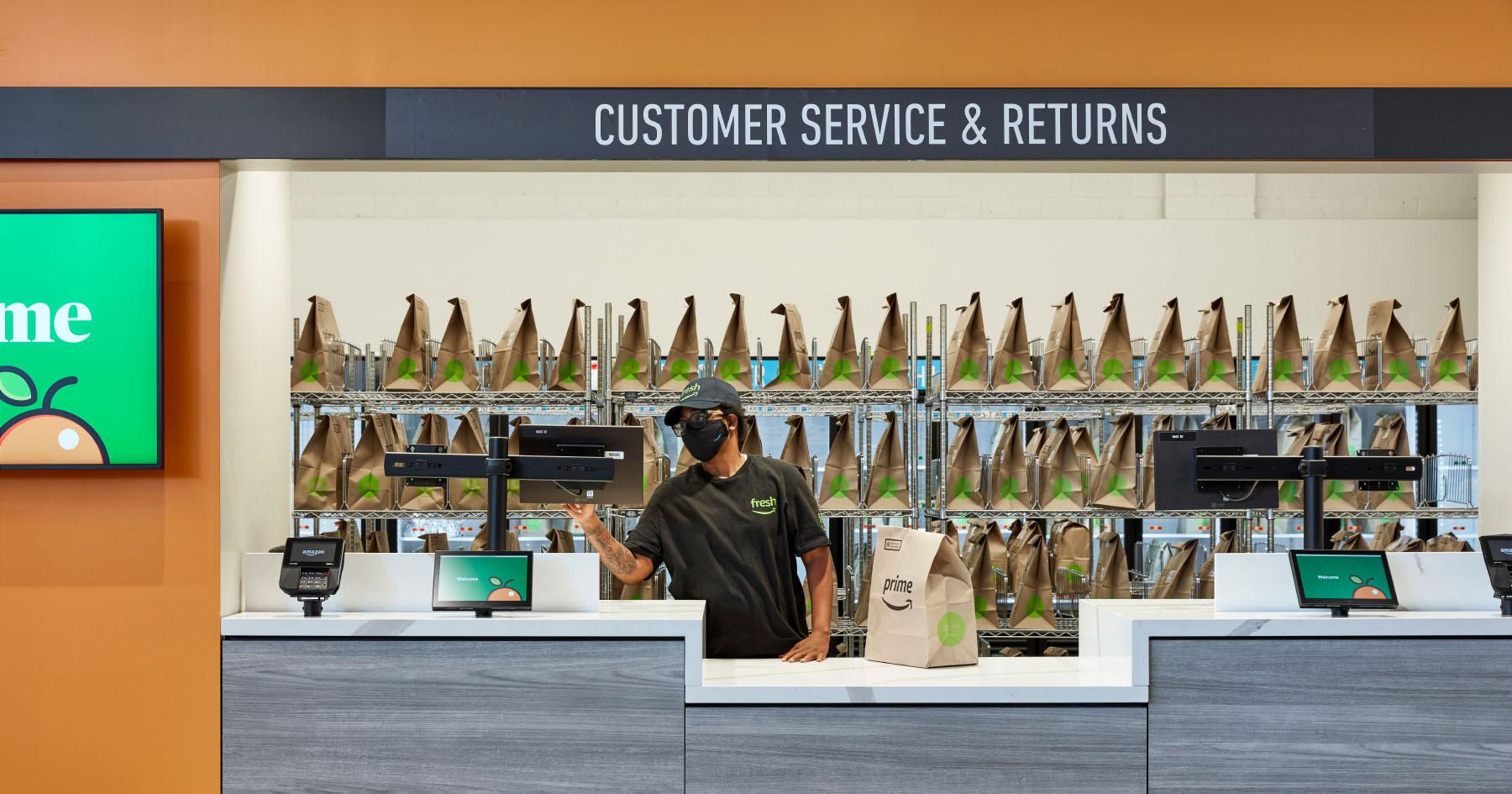 amazon fresh customer service