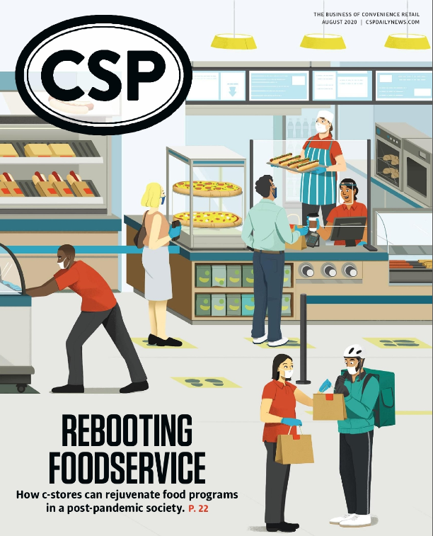 CSP Daily News Magazine Rebooting FoodService | August 2020 Issue