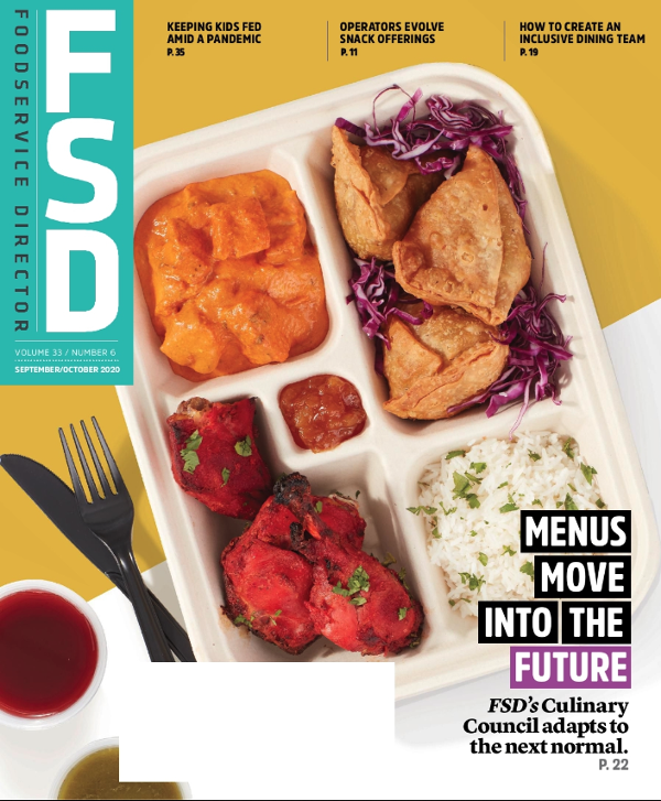 FoodService Director September/ October Issue Issue