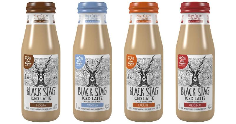 Black Stag iced lattes