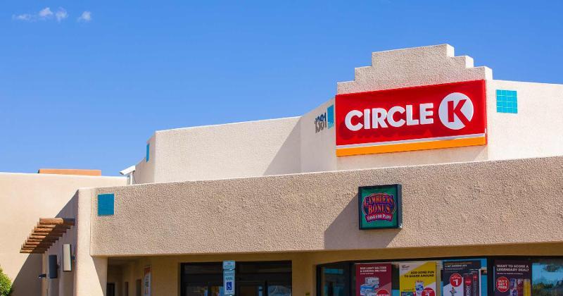 Circle K outside