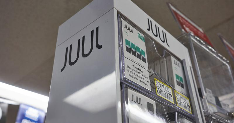 Juul selling container