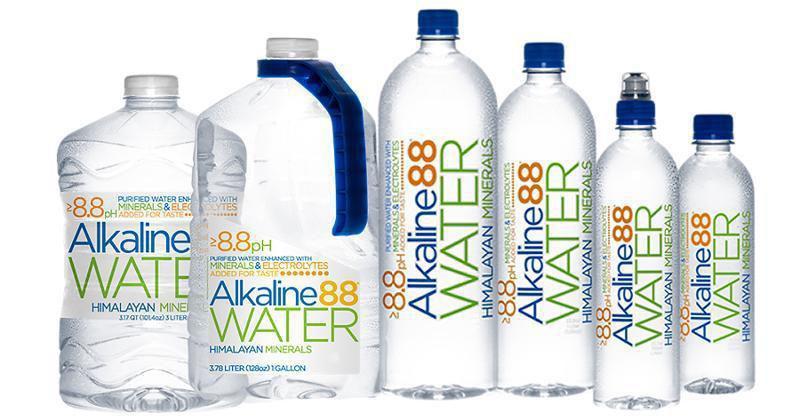 Alkaline 88 water