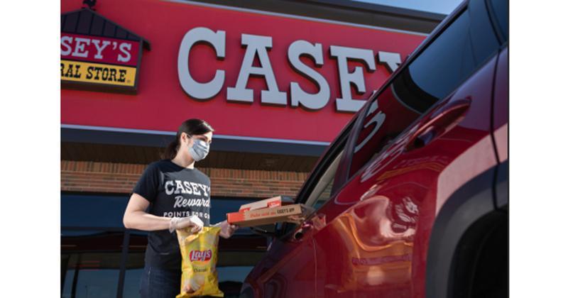 Caseys curbside pick up