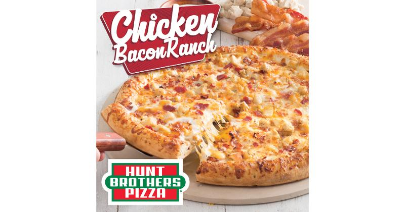 Hunt brothers chicken bacon pizza