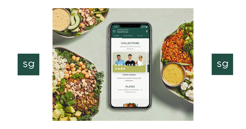 Sweetgreen collections