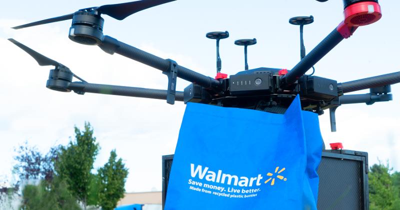 walmart drone