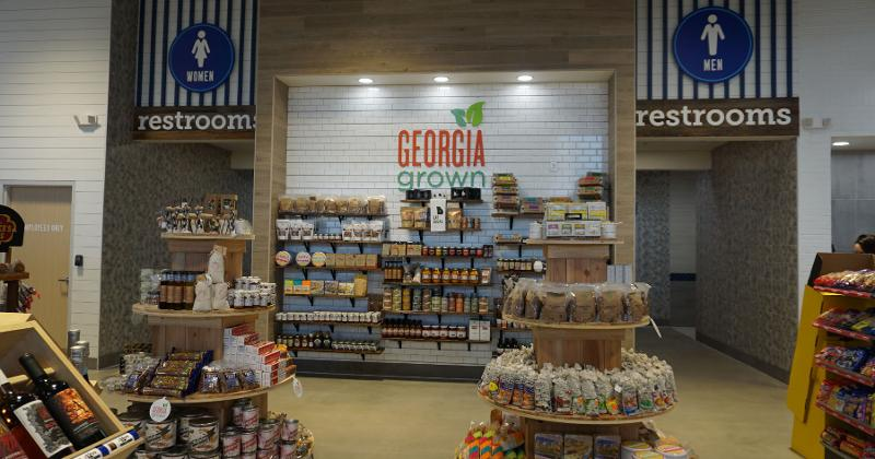 jp travel center GA grown