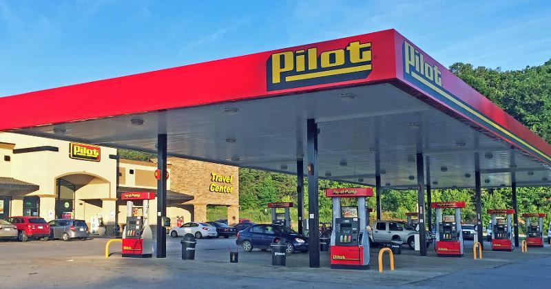 pilot gas station